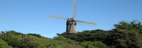 The Windmill in Golden Gate Park