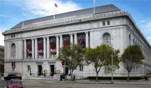 The old San Francisco Library now holds the Asian Art Museum