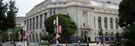 The War Memorial Opera House and SF Ballet