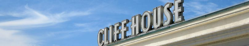 San Francisco's historic Cliff House restaurant and bar.
