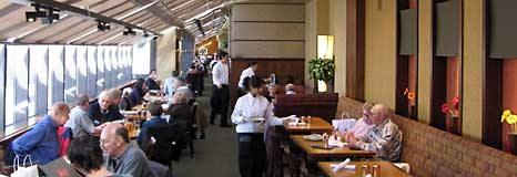 Inside the Cafe Bistro