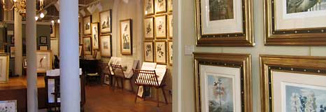 A fine art gallery in Jackson Square of San Francisco