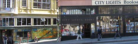City Light Books on Columbus Street in North Beach