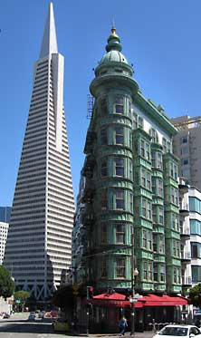 The Sentinel and Transamerica Buildings