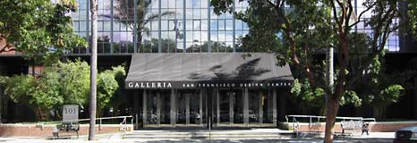 The Galleria in the design district of San Francisco
