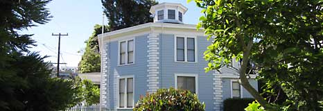 The Octagon House in Cow Hollow